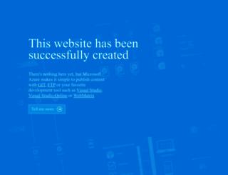 testtcvisual.azurewebsites.net screenshot
