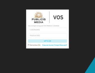 testvos.vivaki.com screenshot