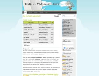 testy.nanic.cz screenshot