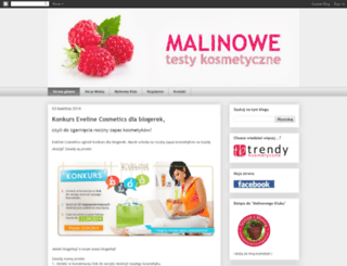testykosmetyczne.blogspot.com screenshot