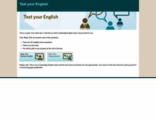 testyourenglish.azurewebsites.net screenshot