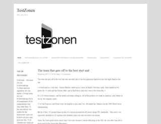 testzonen.se screenshot