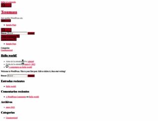 tesumass.com screenshot