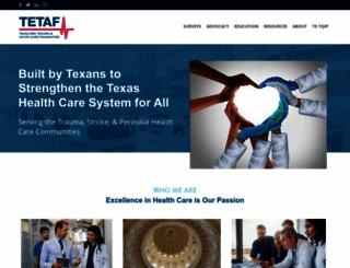tetaf.org screenshot