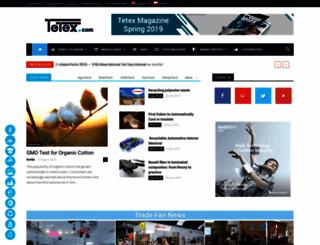 tetex.com screenshot