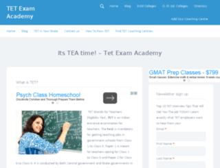 tetexamacademy.com screenshot