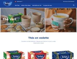 tetley.ch screenshot
