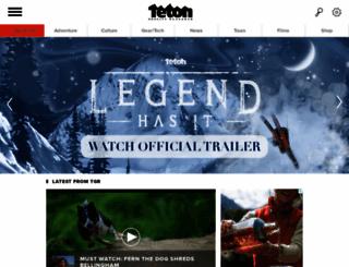 tetongravity.com screenshot