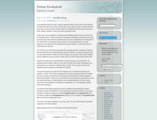 tetontech.wordpress.com screenshot