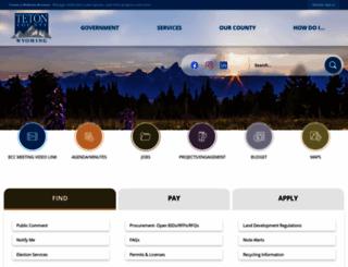 tetonwyo.org screenshot