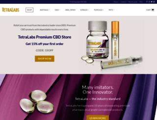 tetralabs.com screenshot
