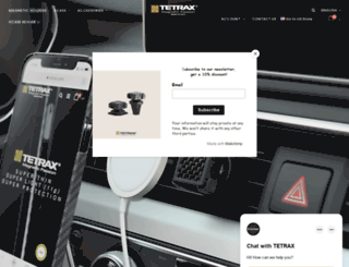 tetrax.com screenshot