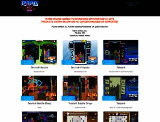 tetrisonline.com screenshot