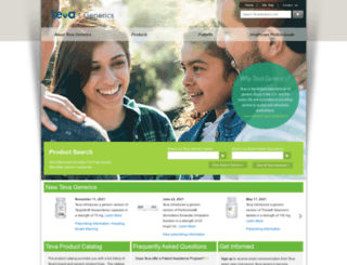 tevagenerics.com screenshot