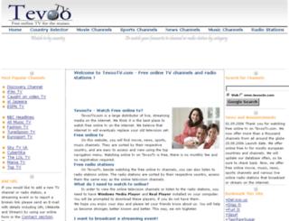 tevootv.com screenshot