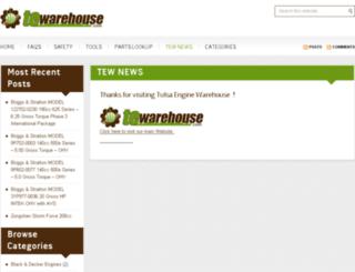 tewarehouse.net screenshot