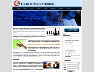 texansoft.com screenshot