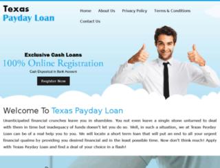 texas-paydayloan.net screenshot