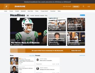 texas.rivals.com screenshot