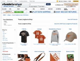 texas.rivalsfanstore.com screenshot