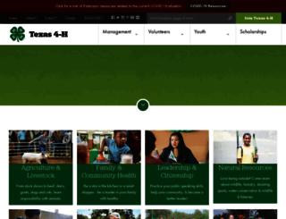 texas4-h.tamu.edu screenshot