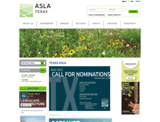 texasasla.site-ym.com screenshot