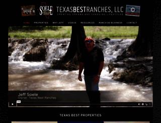 texasbestranches.com screenshot