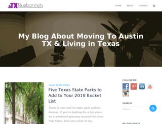 texasbluebonnetsightings.com screenshot