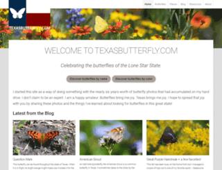 texasbutterfly.com screenshot