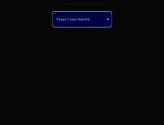 texascoastyachts.com screenshot