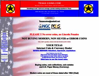 texascoins.com screenshot