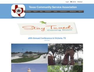 texascommunityservice.com screenshot