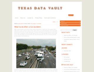 texasdatavault.com screenshot