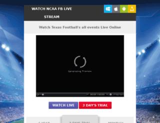texasfootballlivestream.com screenshot