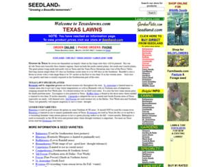 texaslawns.com screenshot