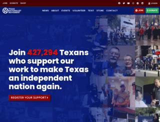 texasnationalist.com screenshot