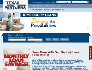 texaspartners.com screenshot