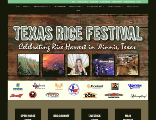 texasricefestival.org screenshot