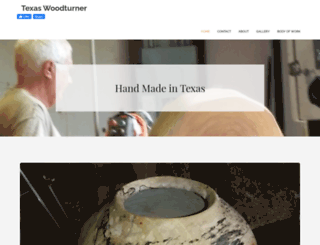 texaswoodturner.com screenshot