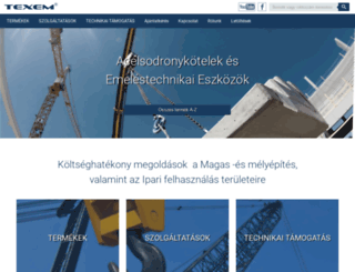 texem.hu screenshot