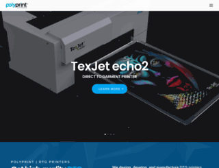 texjetprinter.com screenshot