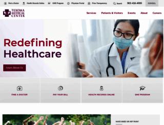texomamedicalcenter.net screenshot