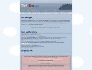text4free.net screenshot
