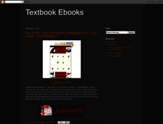 textbook-ebooks.blogspot.com screenshot