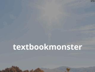 textbookmonster.com screenshot