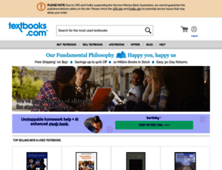 textbooks.com screenshot