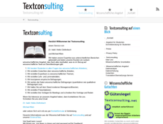 textconsulting.net screenshot