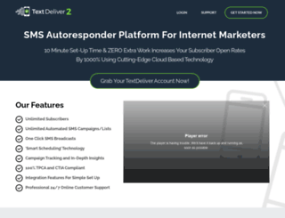 textdeliver.com screenshot