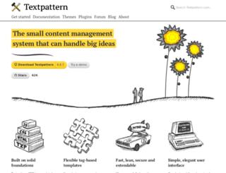 textdrive.com screenshot