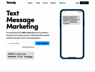 textedly.com screenshot